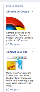 Google Chrome apuesta por Facebook